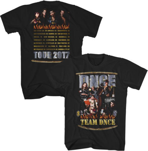 DNCE Photo Itinerary Tシャツ
