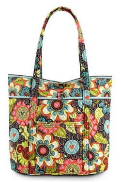 Perfect Petals Vera Bag Vera Bradley