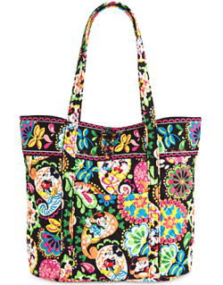Midnight with Mickey Vera Bag Vera Bradley
